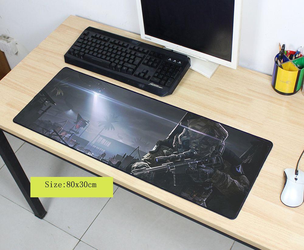Warface souris pad grand pad pour la souris notbook ordinateur tapis de souris grand gaming padmouse gamer pour ordinateur portable 800x300x3mm souris tapis