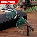 Hombre Óptica Cuadro Restaurar Maneras Antiguas Círculo Ojo Miope Gafas Mujer de Fondo Marco de La Decoración de Metal Textura Gafas 3111