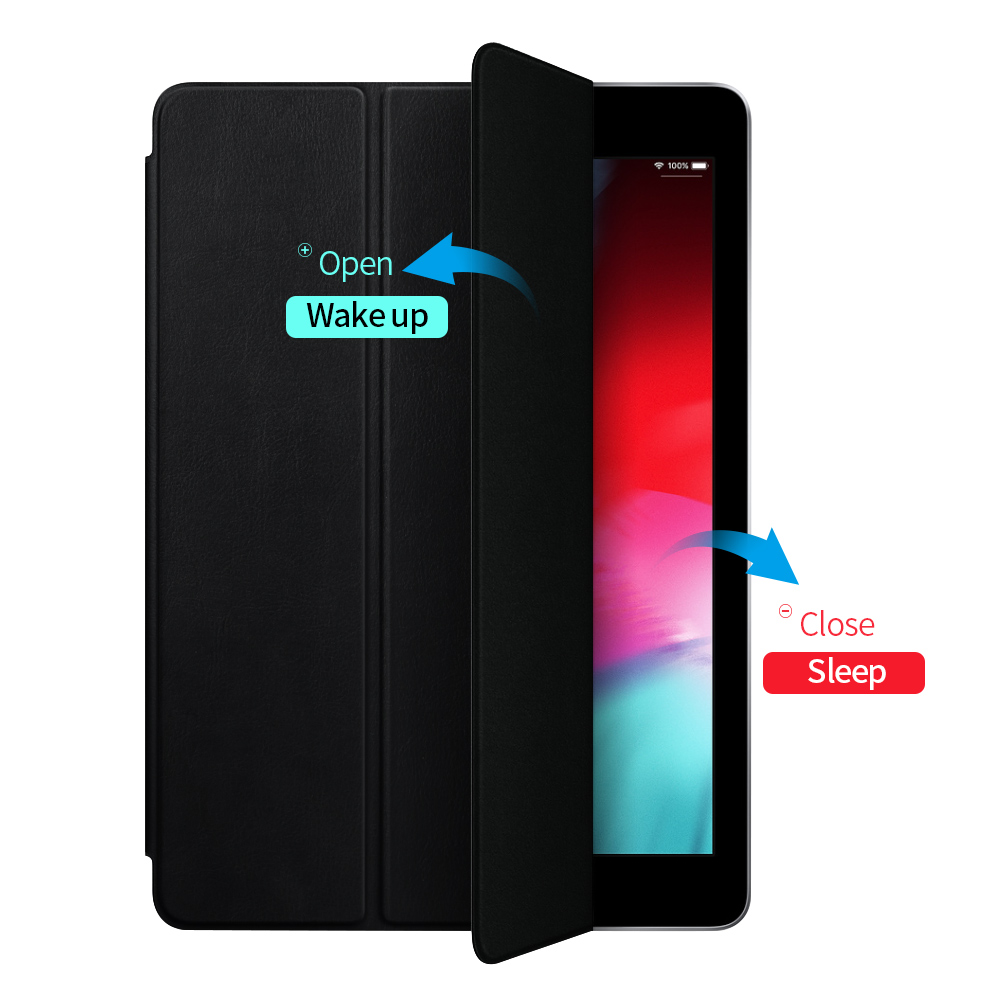 Image 4 - Case For iPad Pro 11 2018 Smart Cover For iPad Pro 12.9 2018 Case  Ultra Slim Support Attach Charge For iPad 11 12.9 inch CaseTablets