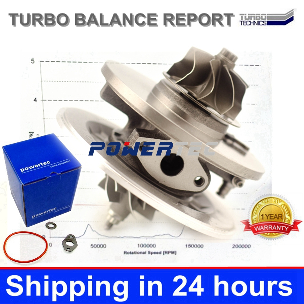 GT2256V turbocharger core 715910 715910-9002S turbo cartridge A6120960599 6120960599 CHRA for Mercedes E-Klasse 270 CDI W210