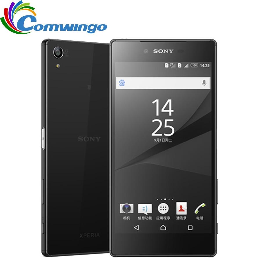 Original Desbloqueado Sony Z5 Premium Versão Japonesa 32 3GB de RAM GB ROM Único Sim Impressão Digital 5.5