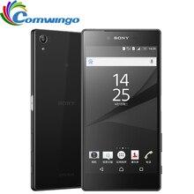 """מקורי סמארטפון Sony Z5 פרימיום יפני גרסה 3GB זיכרון RAM 32GB ROM יחיד Sim טביעות אצבע 5.5 """"אוקטה Core אנדרואיד טלפון חכם"""