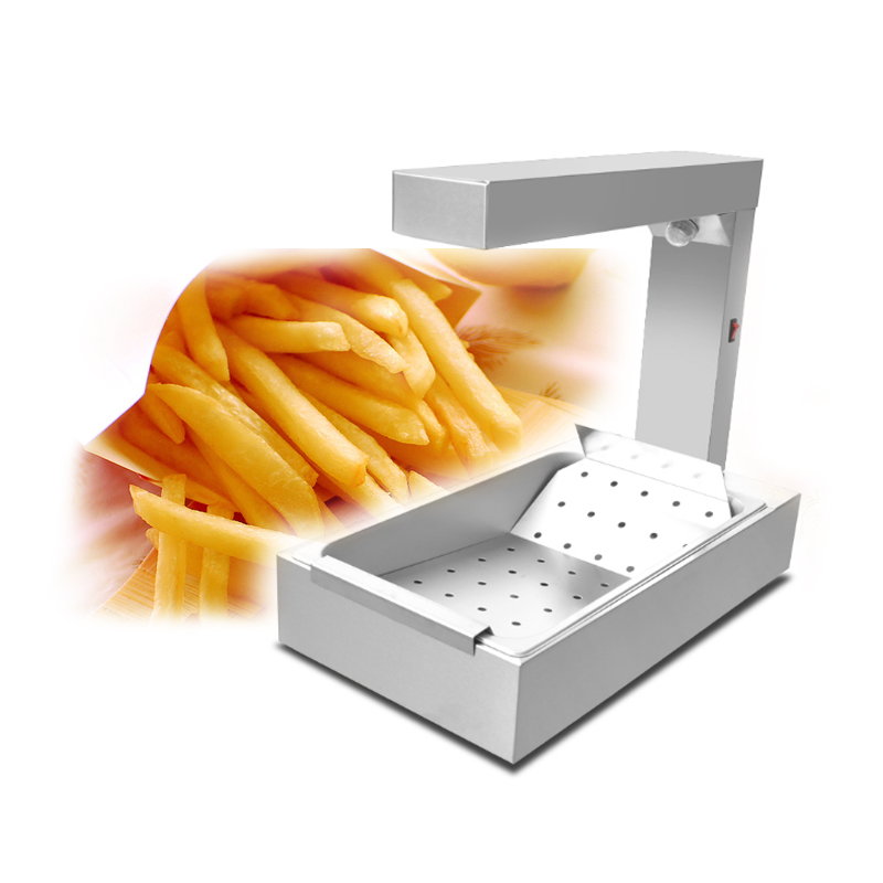 French Fries Machine Vertical French Fries Warmer Potato Chips Attemperator Egg Tart Heating Thermostat FY 620 in Electric Deep Fryers from Home Appliances
