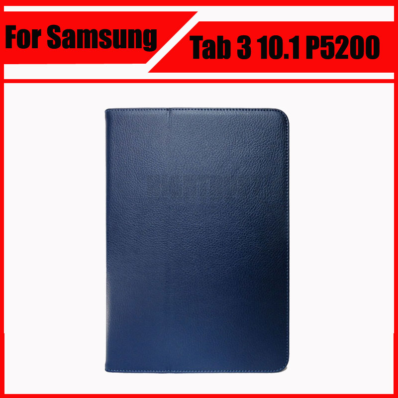 3 in 1 PU Leather Protective Skin Cover For Samsung Galaxy Tab 3 10.1 P5200 P5210 + Stylus Pen + Screen Film luxury flip stand case for samsung galaxy tab 3 10 1 p5200 p5210 p5220 tablet 10 1 inch pu leather protective cover for tab3