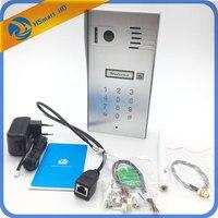 New Touchscreen Wireless Wifi Video door phone doorbell IP Camera Intercom Support IOS Android for Smart Phone Tablet