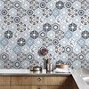High Quality Wall Tiles Stickers Waist Line Floor Kitchen Wall Stickers Adhesive Bathroom Toilet Waterproof PVC