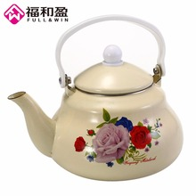 1Pcs 2.0L Enamel Thickened Water Kettle Tea Pot High Quality Chinese Medicine Pot Electromagnetic Furnace Gas Pot automatic decocting pot chinese medicine pot medicine casserole ceramic electronic medicine pot medicine pot electric kettle