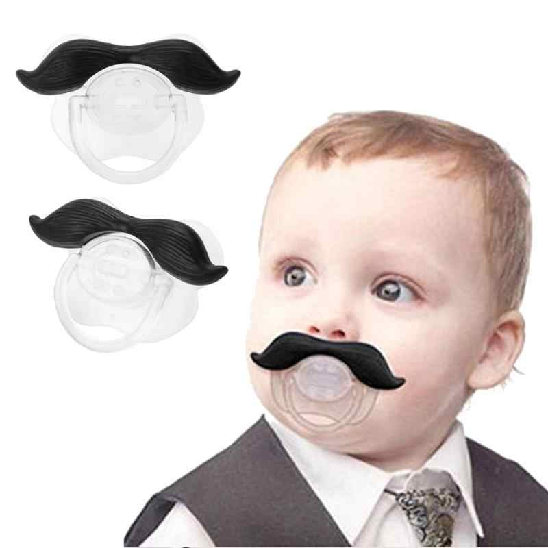 Baby Pacifier Silicone Funny  Dummy Nipple Teethers Toddler Pacy Orthodontic Cute Nipples Teether Baby Christmas Gift