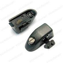 Adaptador de áudio para motorola ptx700, ht750, pro5150, gp338, gp328, gp340 etc walkie talkie para 25/3. 5mm jack headphoen 2 pinos