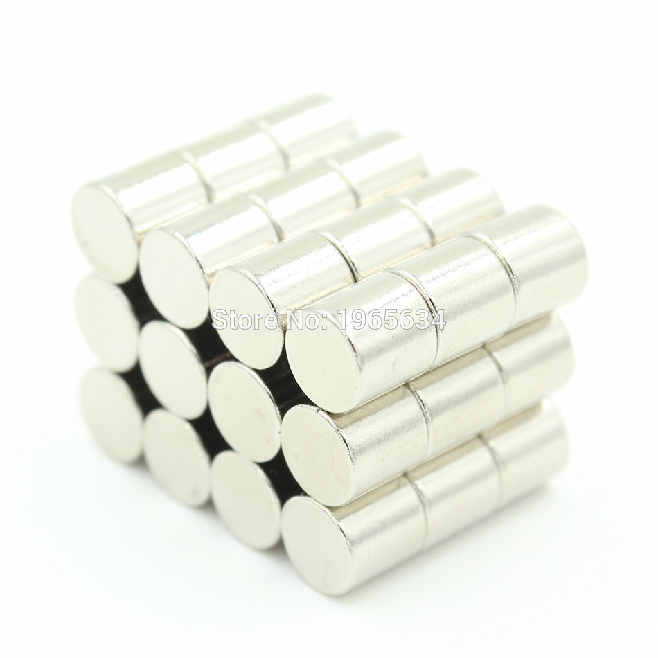 Retail Wholesale 10000pcs 3mm x 3mm Disc Rare Earth Neodymium Super Strong Magnets N35 Craft Model