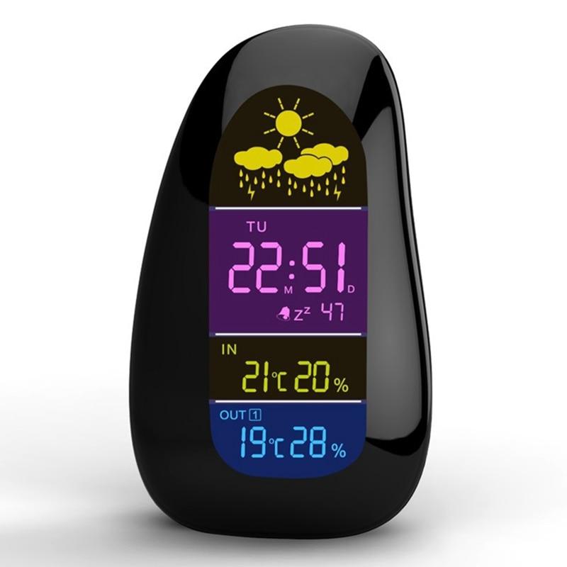 Estación meteorológica inalámbrica Reloj despertador Digital en - Instrumentos de medición - foto 2