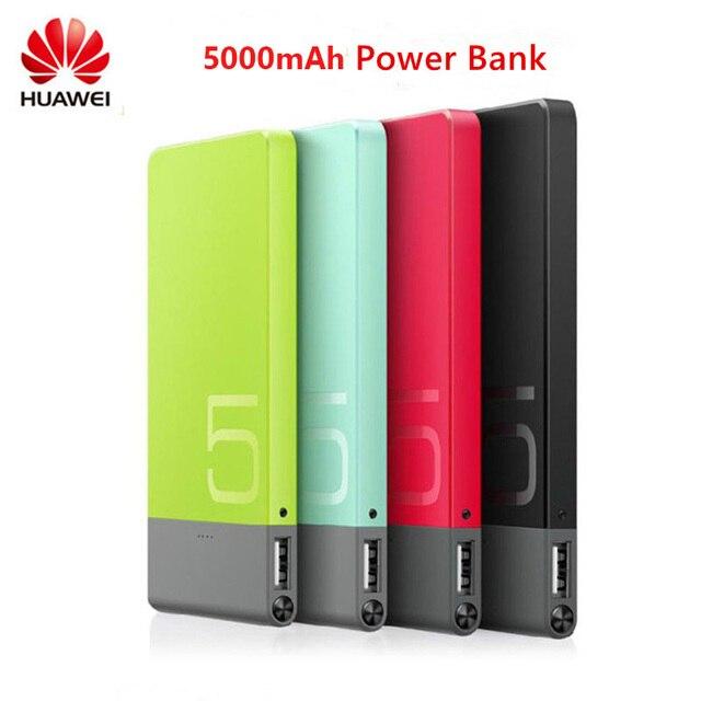 Оригинал Huawei Honor Power bank 5000 мАч Внешний Блок Батарей 5 В 2A Портативное Зарядное Устройство Для Смартфонов Универсальное Зарядное Устройство