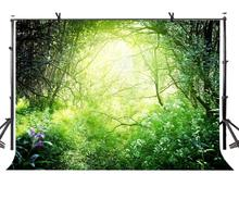 150x220cm Tropical Jungle Backdrop Emerald Nature Photography Background for Camera Photo Props