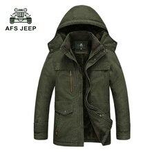 Winterjacke Männer Lässig Baumwolle Dicken Warmen Mantel herren Outwear Parka Plus größe 5XL Mäntel Windschutz Schnee Military Jacken 190z