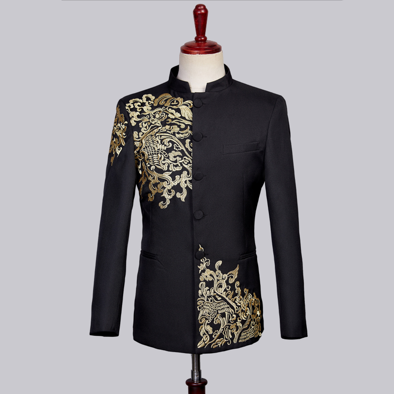 (Пиджак + жилет + брюки) свадебное платье жениха клетчатые официальные костюмы набор мужской модный бутик шерсть Повседневный деловой костю... - 2