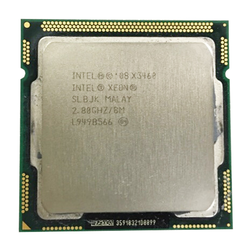 INTEL Xeon X3460 CPU/ LGA1156 Socket /2.8GHz /8M/95W /Quad-Core Processor Dispersible Tablets Cpu
