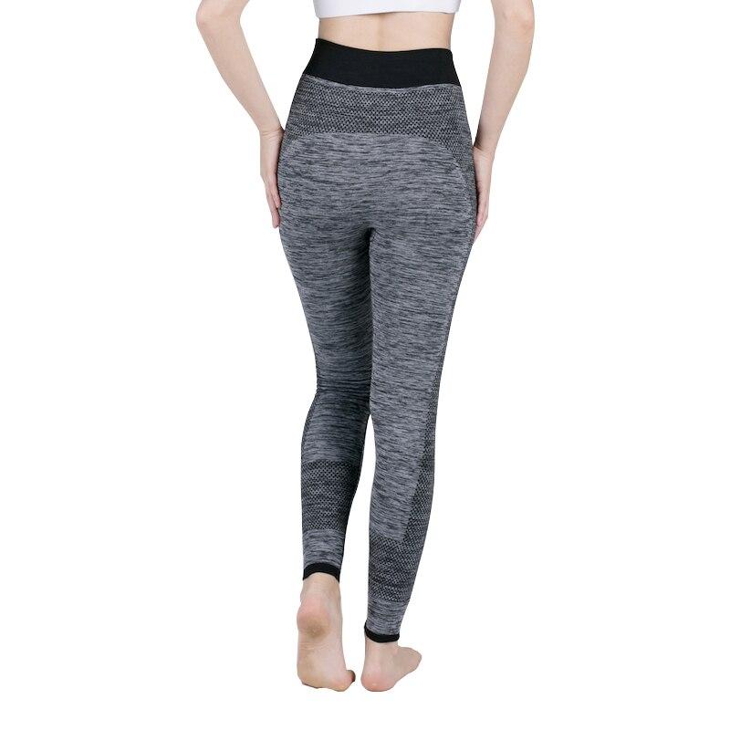 Fashion Workout For Fitness Women's Jeggings Seamless High Waist Elastic Women Legins Black   Legging   2018 Spring-Autumn   Leggings