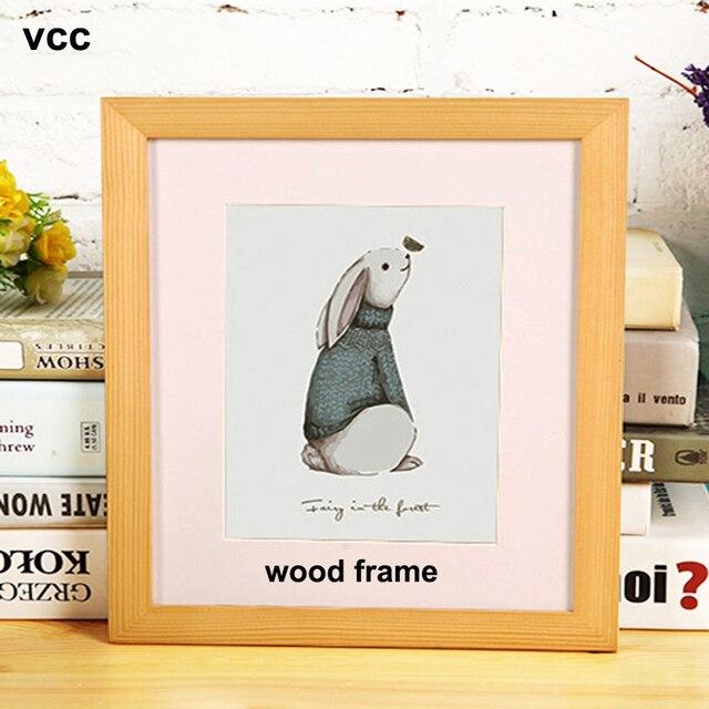 Imagen de Metal, Marco cartel clásico de aluminio marcos de fotos para colgar en la pared A3 A4 30x30 certificado marco VCC