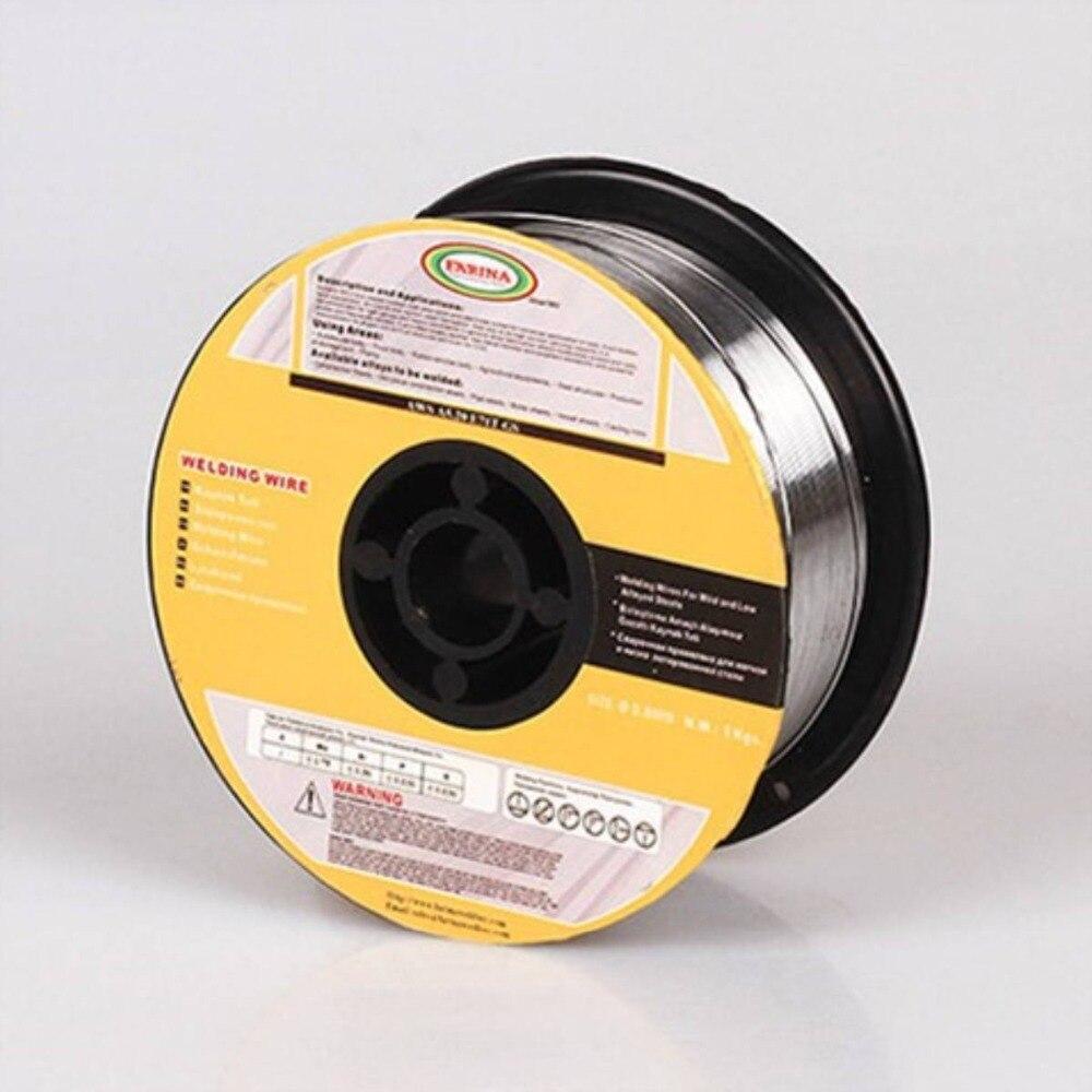 Sans gaz Soudage avec Fil Fourré Fil E71T-GS 71TGS 0.8/0.9/1.0/1.2mm (0.03/0.035/ 0.04/0,045 ) en Acier au carbone Fil Fourré De Soudage