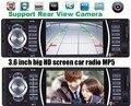12 V som do carro do bluetooth rádio do carro Jogador MP5 4.0 HD Bluetooth/retrovisor/Rádio FM Estéreo/MP3/MP4/Vídeo/Áudio/USB/SD 1 din