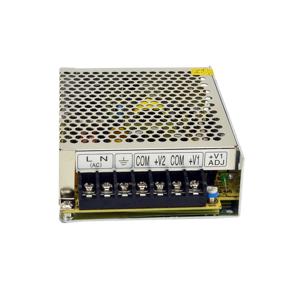 Hot sale 2018 New product 50W 5V 12V dual output Switching Power Supply NED-50A with wide range input 110V/220VAC 35w dual output ned 35b switching power supply ned series 5v 24v dual output ce approved