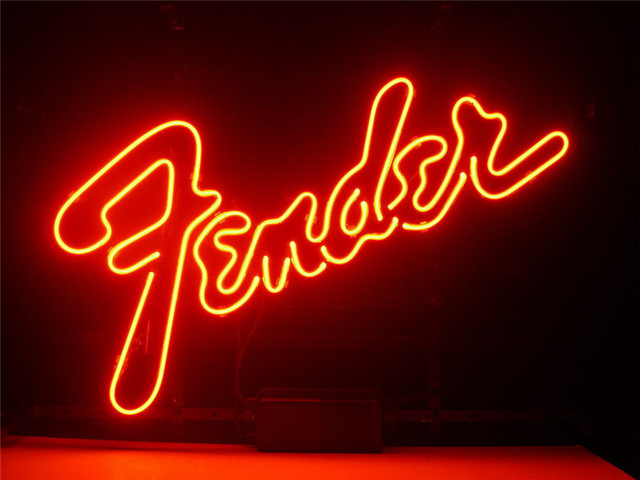 Neon sign for fender sign signboard real glass beer bar pub display neon sign for fender sign signboard real glass beer bar pub display outdoor light signs 17 aloadofball Image collections