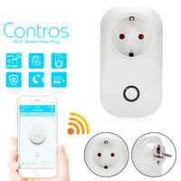 S20 WIFI Smart Socket  Wireless Switch Smart Home Automation Module Timer Diy Wifi Switch EU Plug Remote Controller