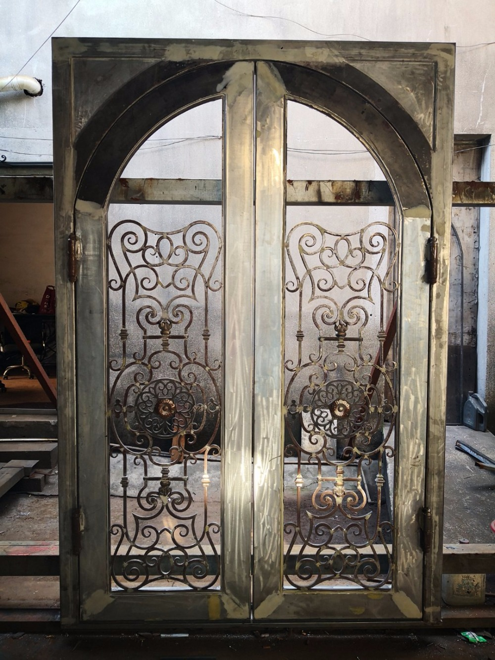 Iron Doors Nyc Wrought Iron Front Doors Houston Tx