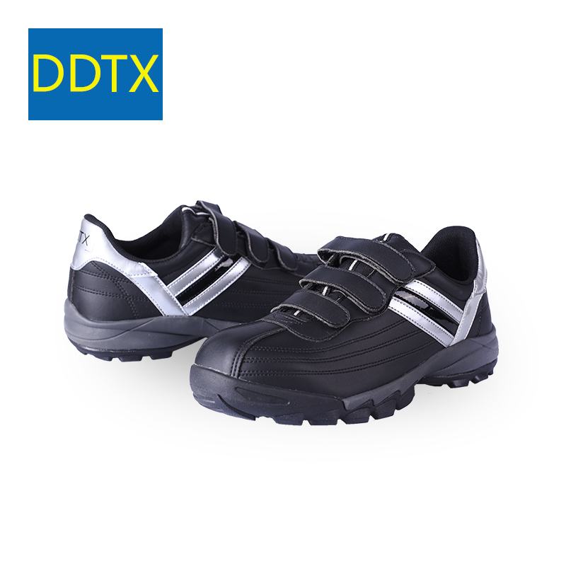 1e4c7b8b8a US $45.87 48% OFF|DDTX Steel Toe Safety Shoes for Men Comfort Lightweight  Anti Slip Work Shoes Women Working Sneakers Boots Black White-in Basic  Boots ...