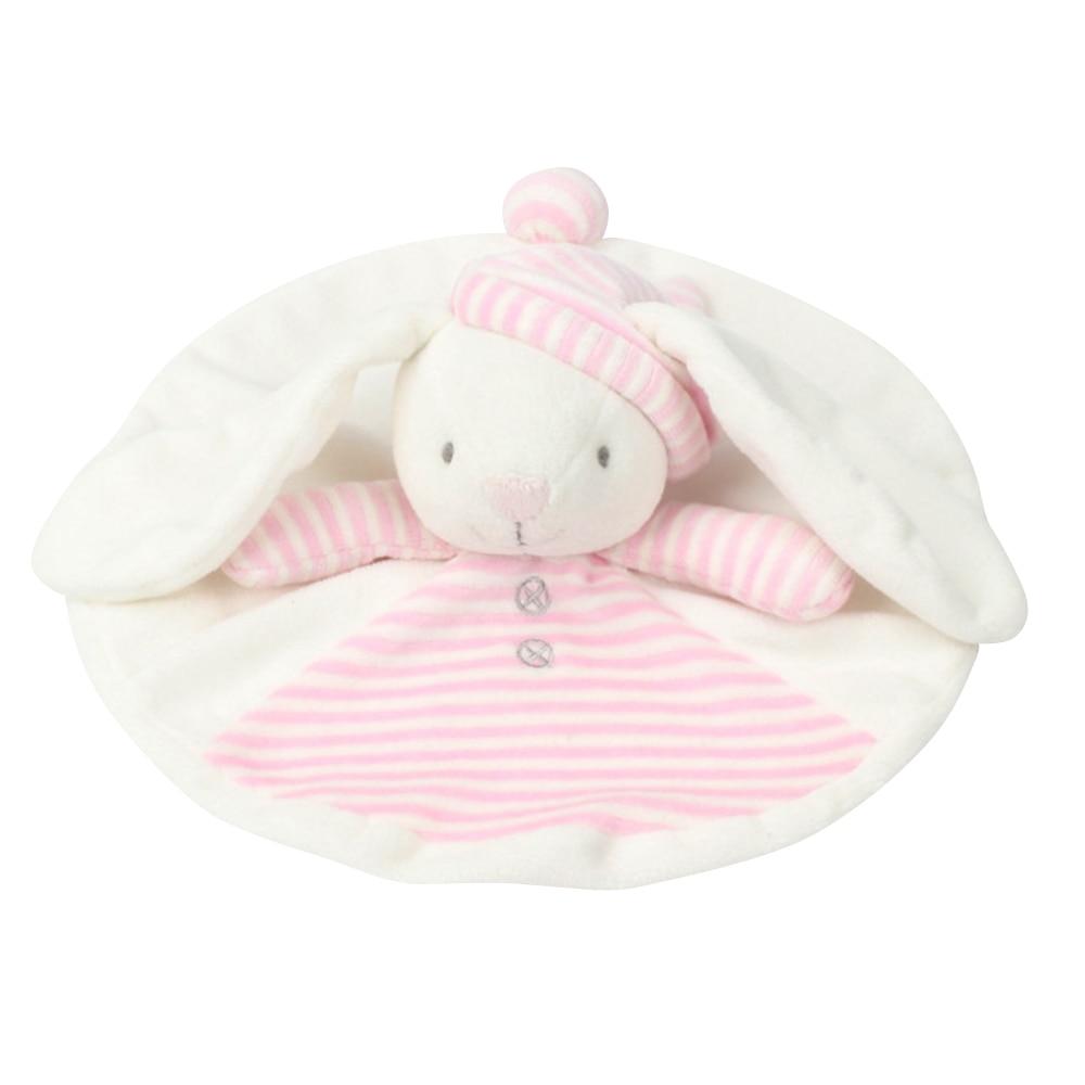 Bebé sonajeros blandos sueño y seguridad animales manta apaciguar ...