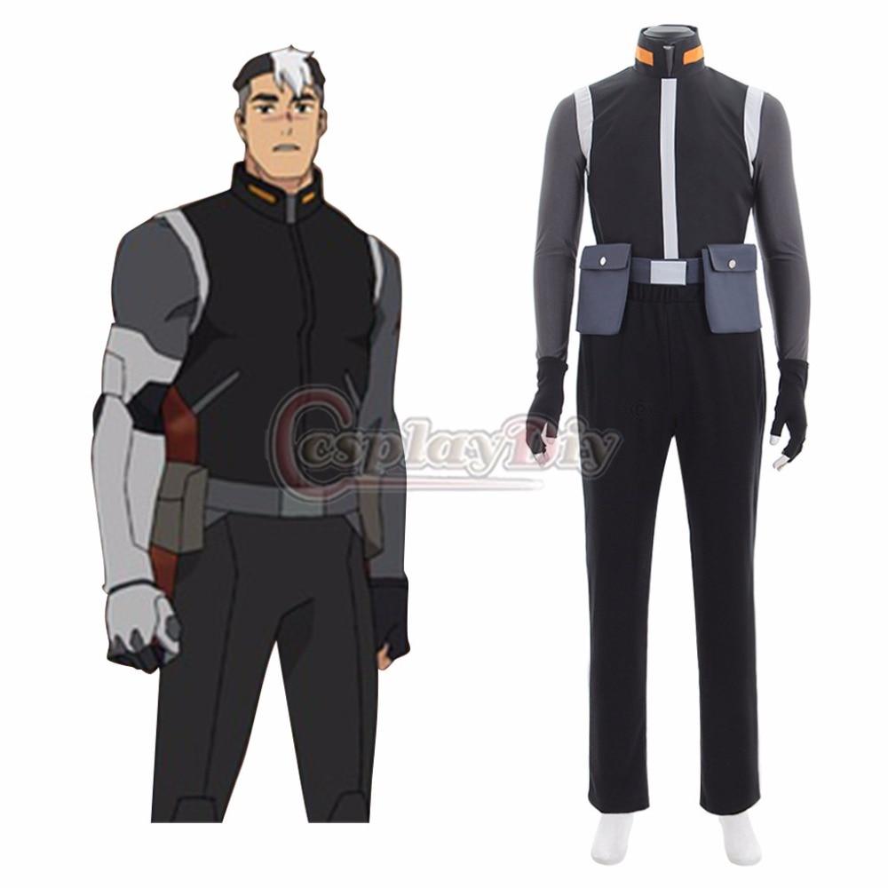 Здесь продается   Cospalydiy Voltron: Legendary Defender Shiro Cosplay Costume Adult Top Pants Gloves Coslay Suit L0516  Одежда и аксессуары