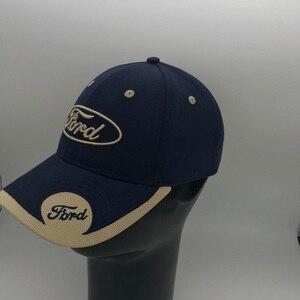 Image 1 - 2019 neue 3D Ford Hut Cap Auto logo Baseball Cap Hut Casual Trucket Hut