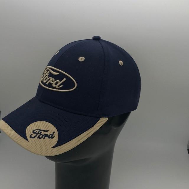 2019 جديد ثلاثية الأبعاد فورد قبعة قبعة شعار سيارة قبعة بيسبول قبعة قابل للتعديل قبعة شاحنة عادية