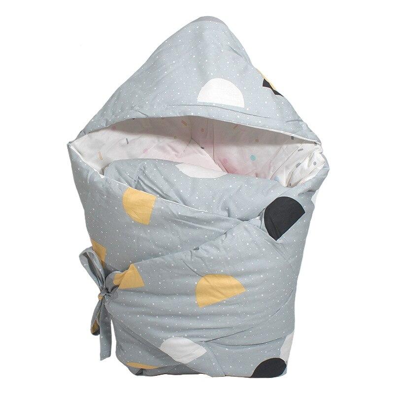 Anti-Dirty Cute Print Baby Sleeping Bag Envelope 1 Pcs Multi-Color Infant Newborn Sleepsacks 90*90cm Baby Swaddle For Winter
