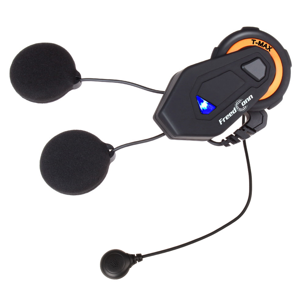 T-MAX motorcycle intercom helmet bluetooth headset 6 riders group intercom BT interphone intercomunicador FM radio Bluetooth 4.1 t comvb bt wireless intercomunicador interphone headset 800m bluetooth motorcycle helmet intercom walkie talkie fm soft earpiece