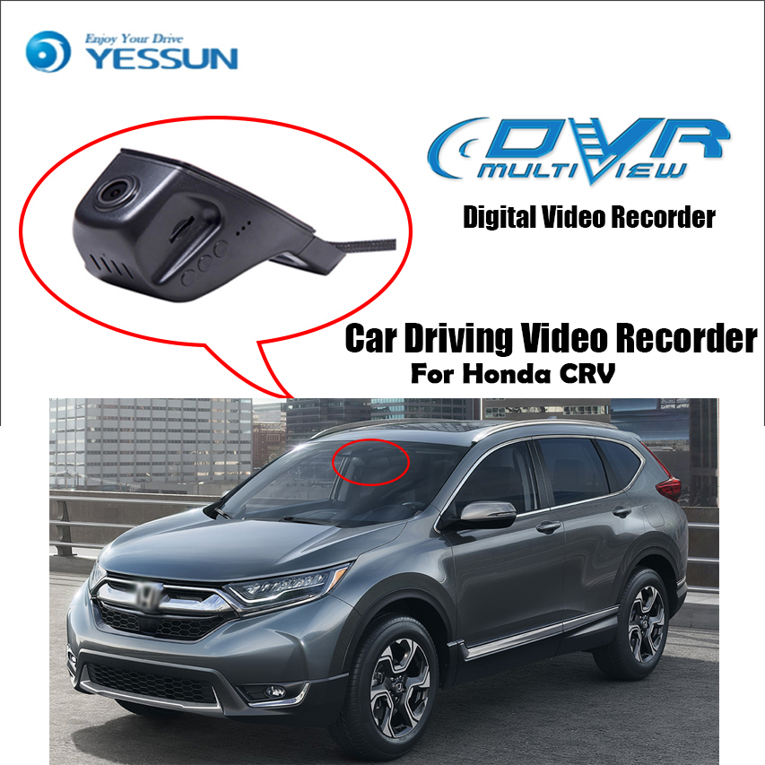 YESSUN Registrator Dash-Cam Driving-Video-Recorder Car Dvr Wifi-Camera Night-Vision Mini
