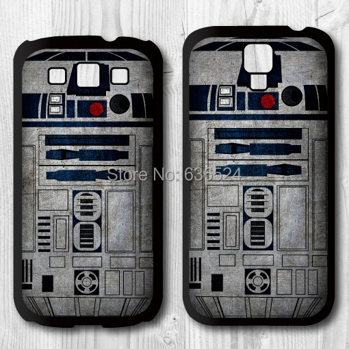 2016 New Style Handsome Metal Star Wars R2D2 Unit Black Case Cover Samsung Galaxy S3/S4/S5/S6 - san shao ye store