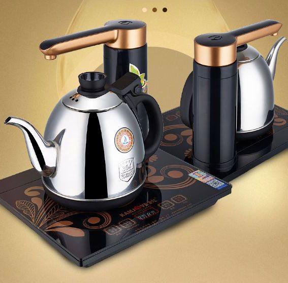Spedizione gratuita KAMJOVE KJ-K7 intelligente bollitore elettrico automaticamente aggiungere acqua del tè elettrico stufa automatica di energia elettrica stufa Tè