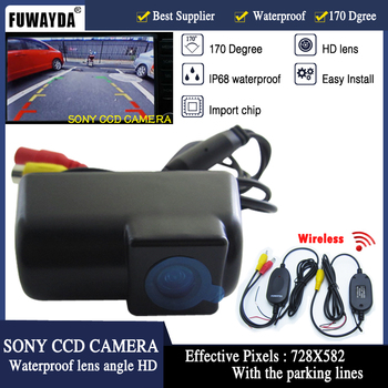 FUWAYDA FOR Wireless SONY CCD HD Special Car Rear View Reverse Backup Parking DVD GPS CAMERA for FORD TRANSIT CONNECT image
