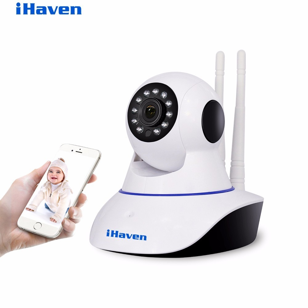 iHaven Smart Home Security Wifi Camera 720P HD Cloud Storage P2P IR Night Vision Network IP Surveillance Camera Wi-fi Wireless 720p hd wifi camera p2p wireless baby monitor security camera cloud storage night vision camera compatible with sensor detector