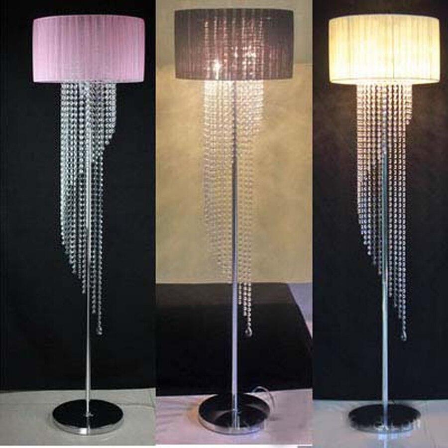 online kaufen großhandel moderne chrom kristall stehleuchte aus ... - Moderne Wohnzimmer Stehlampe