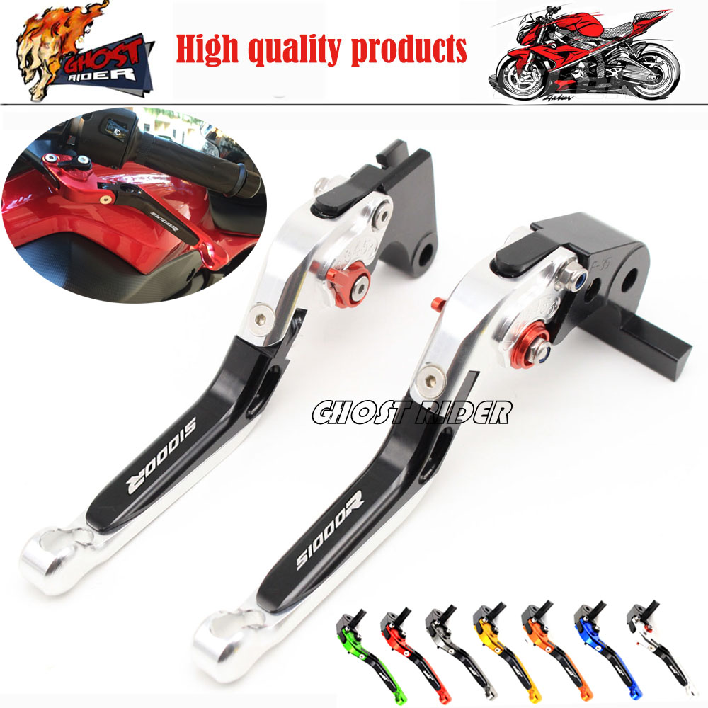 ФОТО Motorcycle Accessories Adjustable Folding Extendable Brake Clutch Levers fits For BMW S1000R 2014 2015 2016