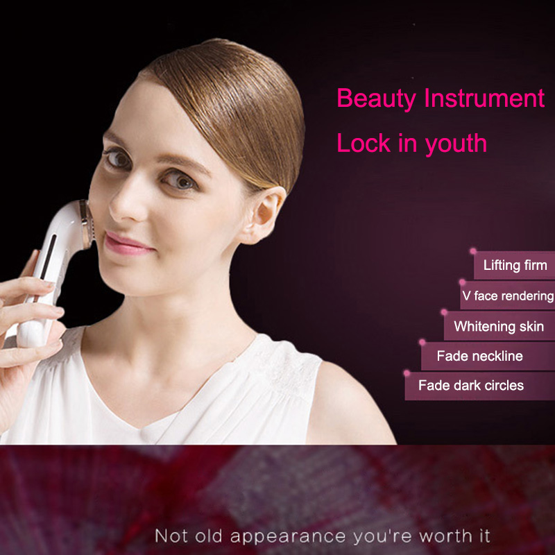 2018 Radio Frequency Lifting Face Remove Wrinkles Skin Care Beauty Massager Tightening Device