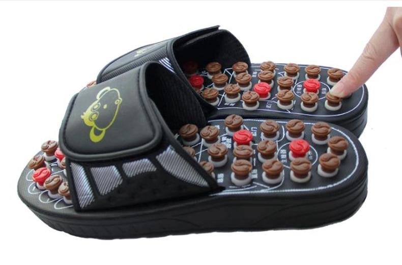 Acupoint massage health care massage shoe pebble stone sandals Home Furnishing summer men and women health sandal/tb20906/2