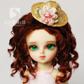 wig for BJD 1/3,1/4,1/6,1/8 ,BJD wig for doll.A15A797.Wig accessories not include.Doll and Clothes not include