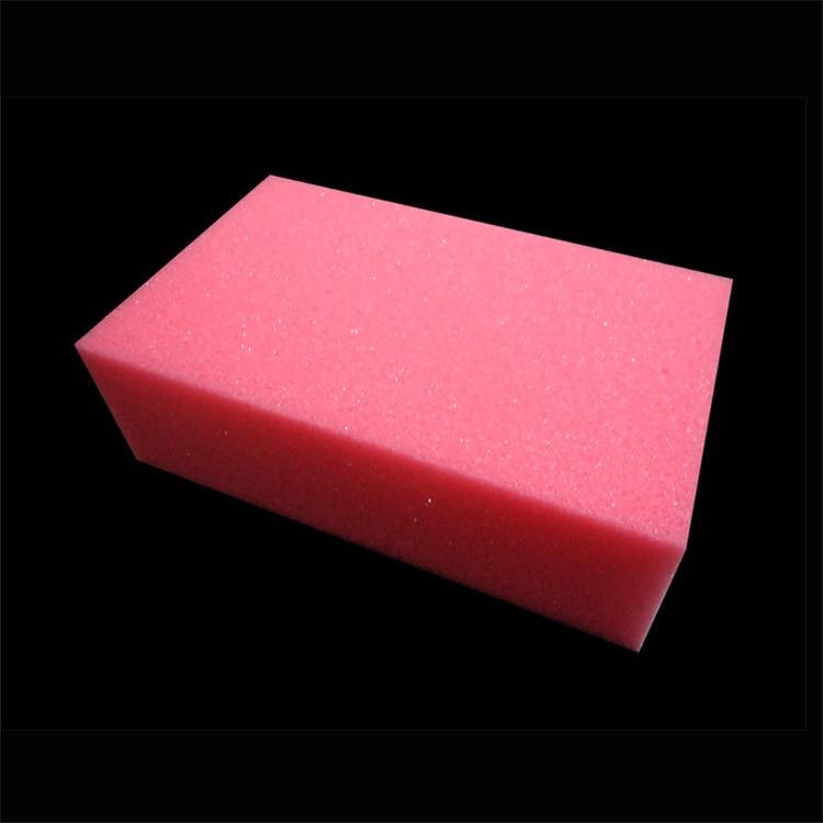 1pc ultra-soft super-thick barber sponge brush block sponge shaving brush to brush the hair sponge brush 12 * 7 * 4cm
