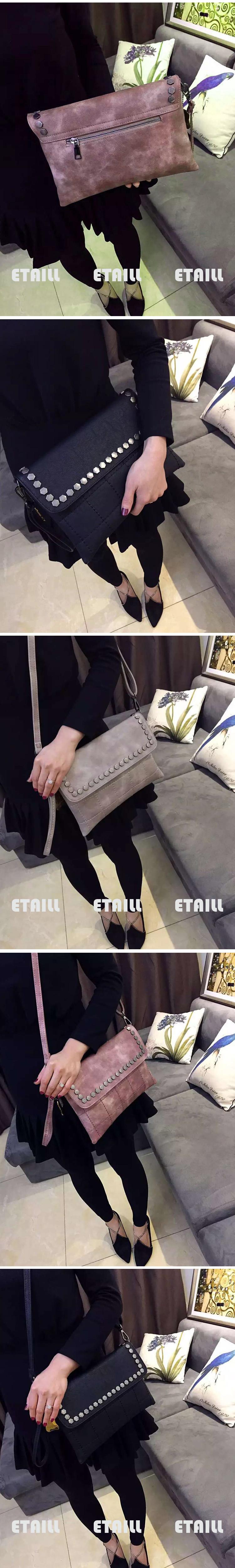 Punk Style Women\'s Bags Rivet Handbags