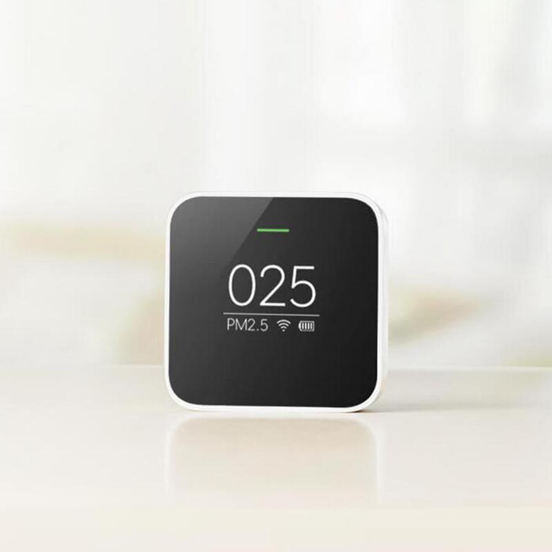 Prix pour D'origine Xiaomi PM 2.5 Air Détecteur Portable OLED écran Wifi 2.4 GHZ Utiliser Avec Purificateur D'air Air de Surveillance de la Qualité