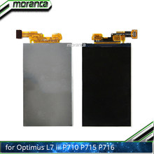 4.3 Inch P710 LCD Screen for LG Optimus L7 II P710 P715 P716 L7X P714 LCD Display Screen 100% Tested Assembly Repair Parts(China)