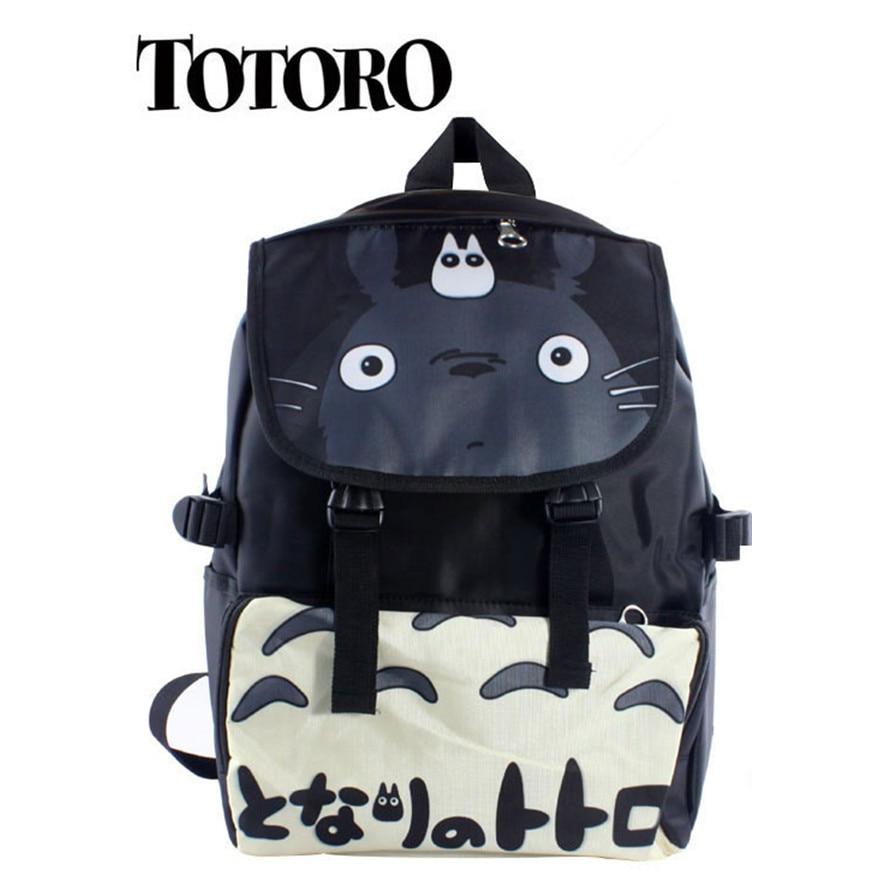 Anime Tonari no Totoro Cosplay TOTORO Cartoon student bag casual birthday gift male and female backpackAnime Tonari no Totoro Cosplay TOTORO Cartoon student bag casual birthday gift male and female backpack